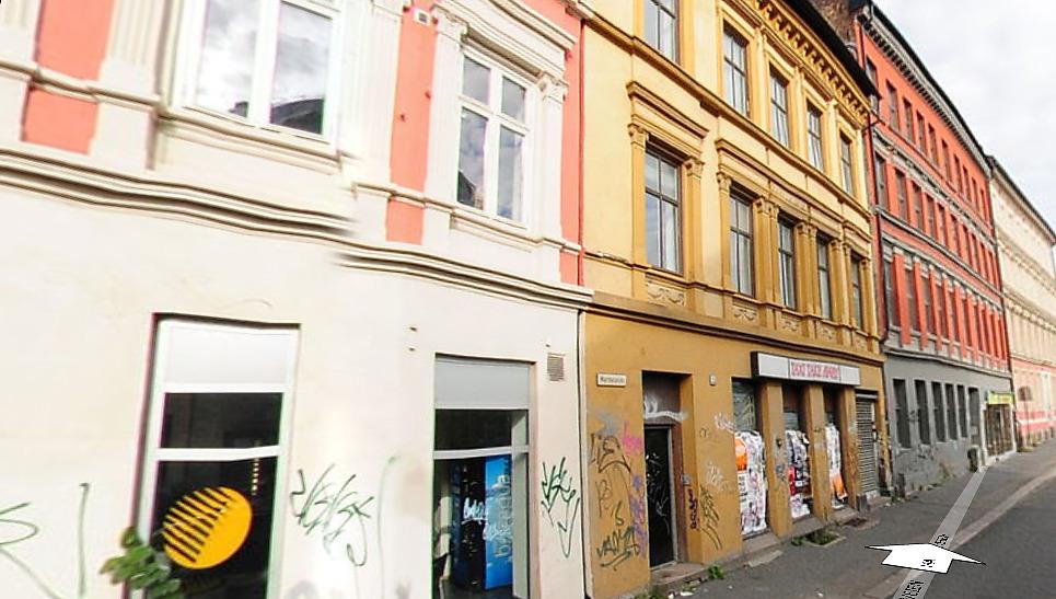 Sesams Oslobilder er tatt på tidspunkter der det er få mennesker i gatene, av hensyn til personvern.