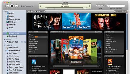 iTunes-film kommer snart også som stream.