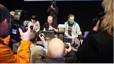 Stor interesse for Pirate Bay-saken i Stockholm.