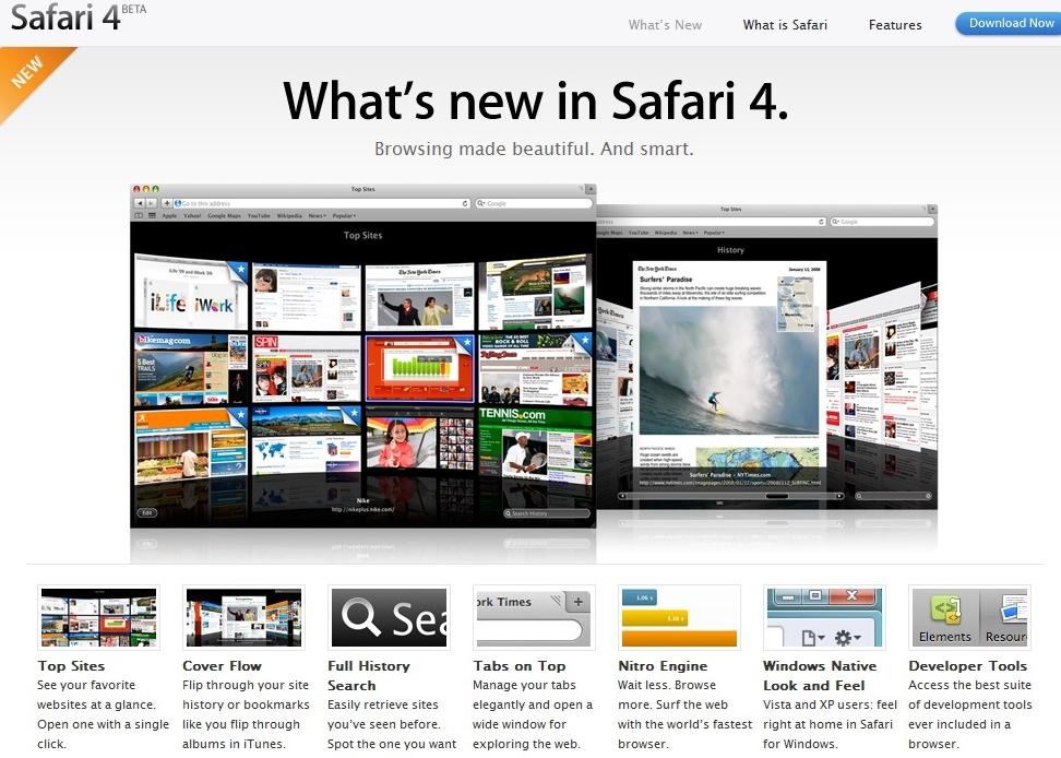 Dette er nytt i nye Safari.