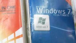 Piratmarkedet i Asia har alltid vært aggressive i sin markedsføring, men det er uansett drøyt å kalle denne Windows 7-utgaven som den endelige versjonen.