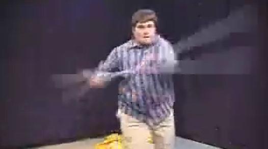 Star Wars Kid var «greia» på nettet i 2002.