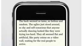 Nå kan amerikanske bokormer lese Kindle-bøker på sin iPhone.