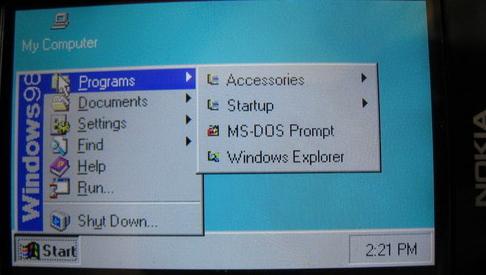 Plutselig var det ikke så imponerende å kjøre Windows 3.11 på Nokia N95.