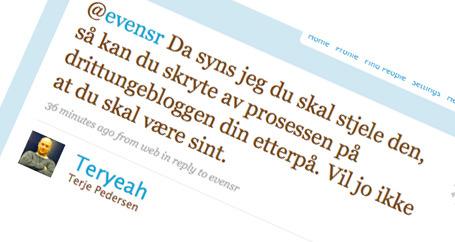 Terje Pedersen har unnskyldt seg etter denne kraftsalven.
