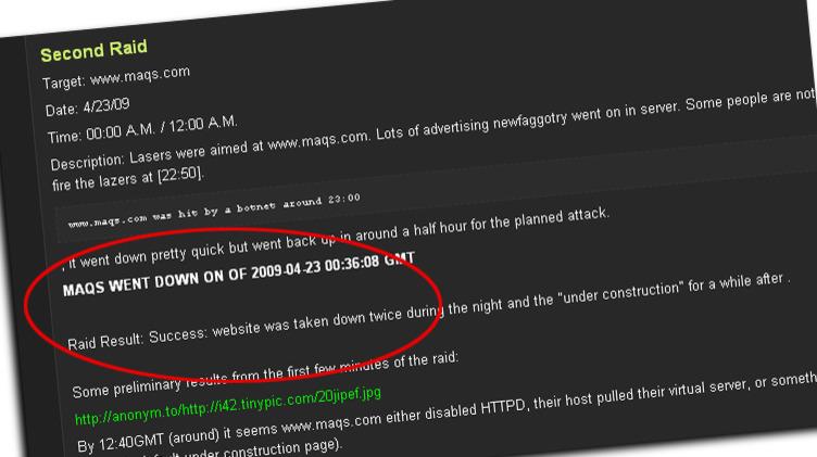 Advokatfirmaet MAQS sitt nettsted ble hardt angrepet av pirater i natt.