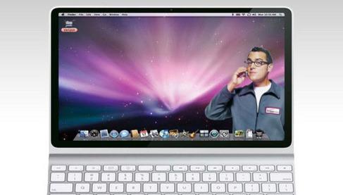 Ingen vet hvordan Apples nye produkter vil se ut, men mange fanlagde forslag har dukket opp. Dette er et av dem.