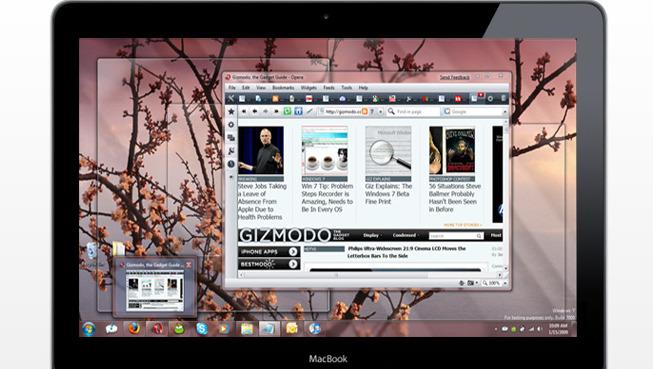 Windows 7 fungerer godt på Macbooks.