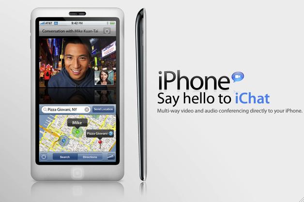Slik ser en designer for seg hvordan neste iPhone blir seende ut.