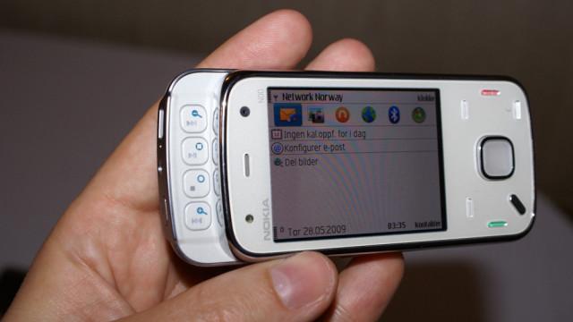 Ikke la deg lure av N00-betegnelsen - det er en prototype-telefon