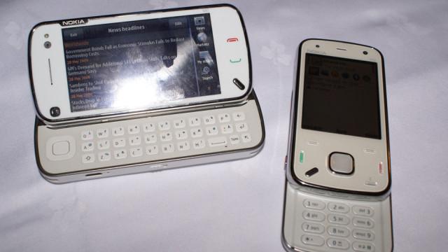 N97 er dessverre mottakelig for fingermerker