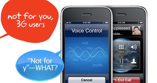 Burde Apple gitt voice control og videoopptak gratis til første og andre generasjon iPhone?