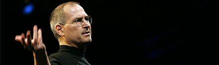 Steve Jobs banner