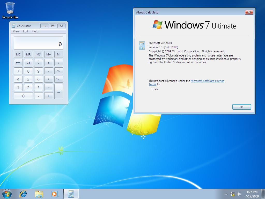 Denne utgaven av Windows 7 lekket i går, men det er ikke den endelige utgaven til tross for et høyt byggnummer.
