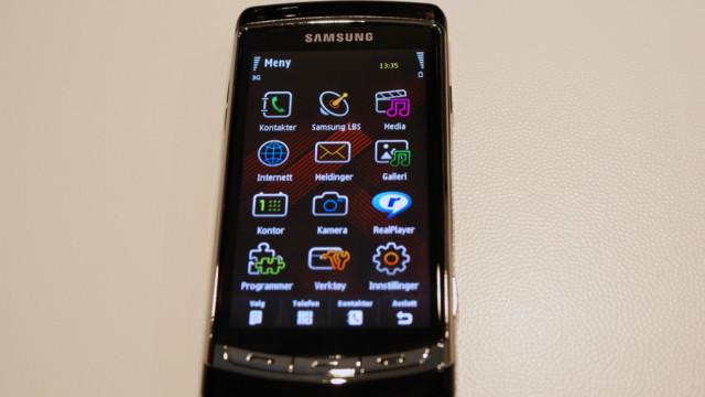 Hovedmenyen, kjent for mange Nokiabrukere