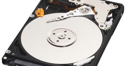 Denne disken rommer hele 1TB, og får plass i en laptop.