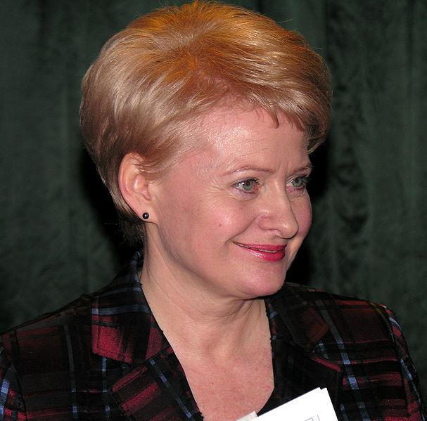Litauens ferske president Dalia Grybauskaite er kidnappet på Twitter.