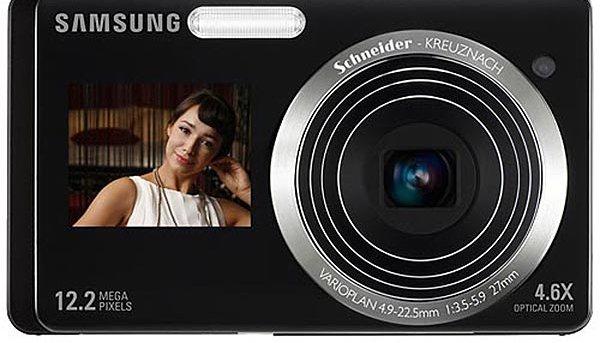 Samsungs nye kameraer ST500 og ST550 har display på fronten - i tillegg til displayet på baksiden. Smart, eller?