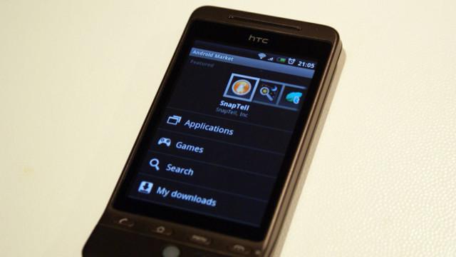 Android Market er lett å bruke.