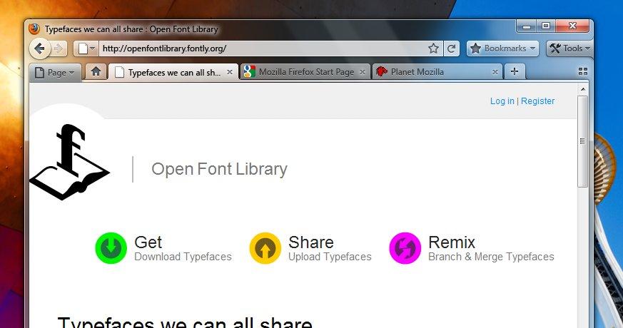 Kanskje blir Firefox 4.0 slik.