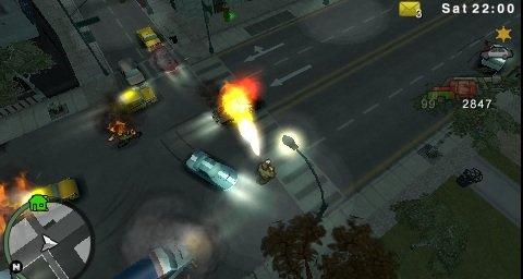 Slik blir GTA på PSP.