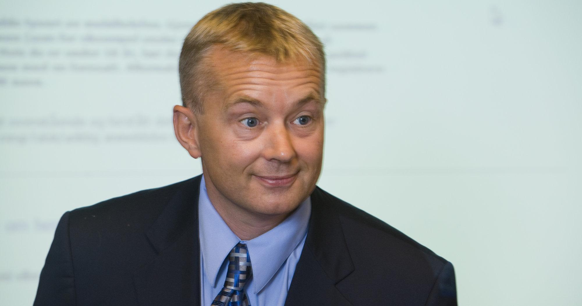 Justisminister Knut Storberget kan glede seg over at Datalagringsdirektivet nå blir vedtatt.