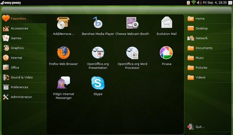 1.5 er basert på nyeste Ubuntu-kjerne, tar mindre plass og er kjappere.