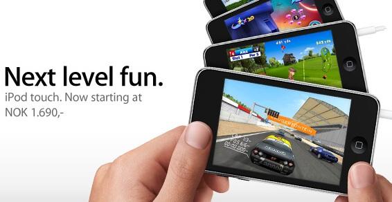 Nye iPod Touch har bedre skjermkort.