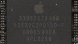 Denne brikken sitter i den nyeste utgaven av iPhone, og er produsert av Samsung. Men de fleste tror at det er en Apple-chip likevel.