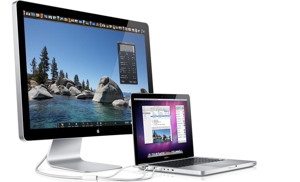 Skal vi tro AppleInsider vil den nye iMacen ligne på Apples Cinema Display.
