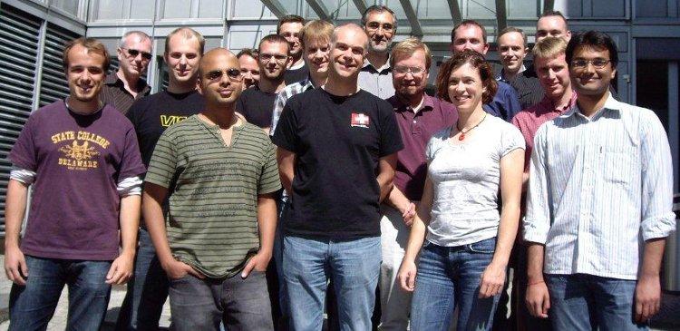 Teamet som jobber med Barrelfish.
