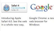 Slik er det foreløpige utkastet fra Microsoft der nettleserne er rangert etter selskapenes navn.