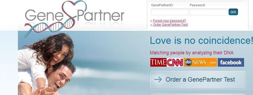«Kjærligheten er ikke noen tilfeldighet» er slagordet til sveitiske GenePartner, som hjelper amerikanere med å finne riktig partner med DNA.