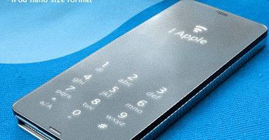 Fantasifulle (?) forslag til hvordan den nye utgaven av iPhone vil se ut har allerede begynt å dukke opp på nettet.