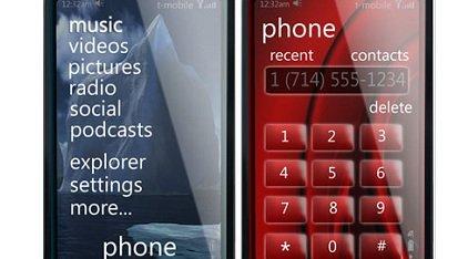Slik ser i følge det spanske nettstedet MuyComputer.com Microsofts nye telefon ut. Den skal i følge dem bli presentert på mobilmessen i Barcelona om to uker.