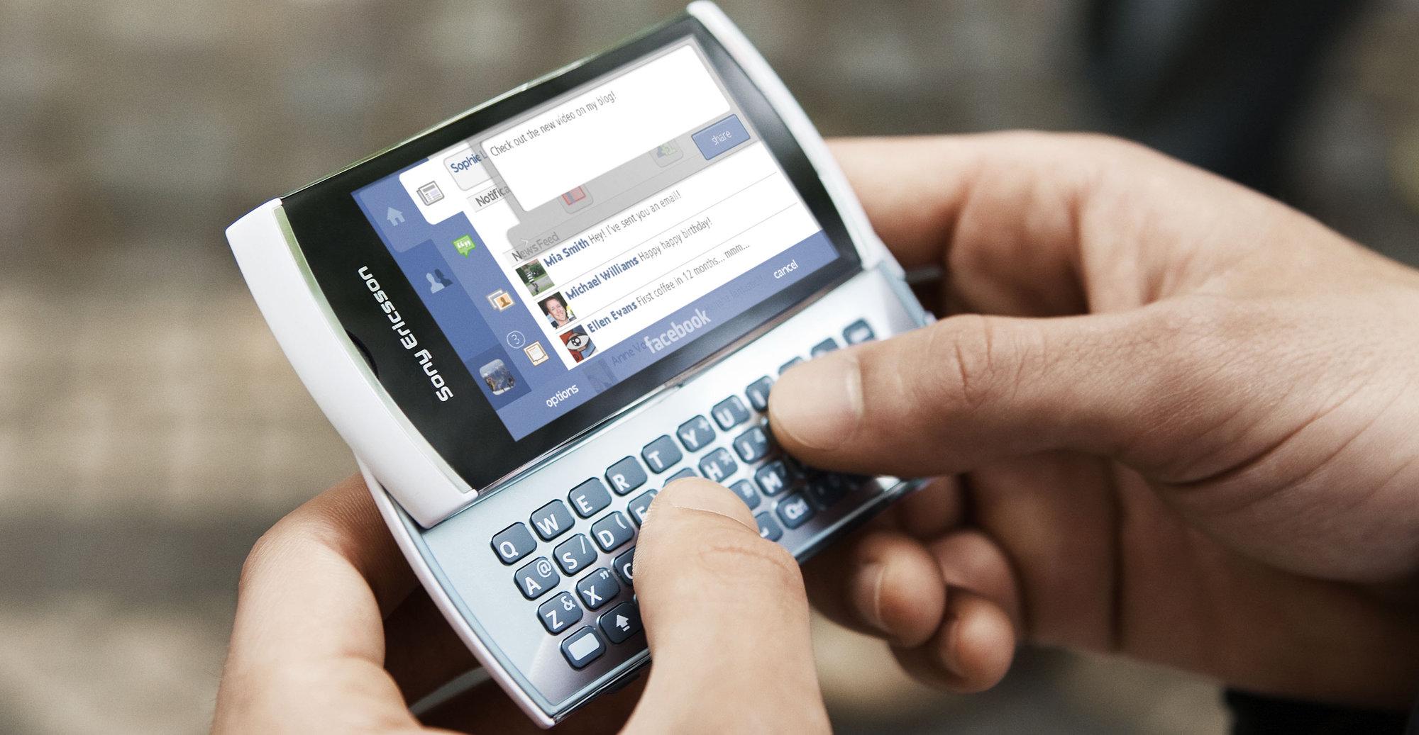 Vivaz Pro blir en av de siste Symbian-baserte mobilene til Sony Ericsson.