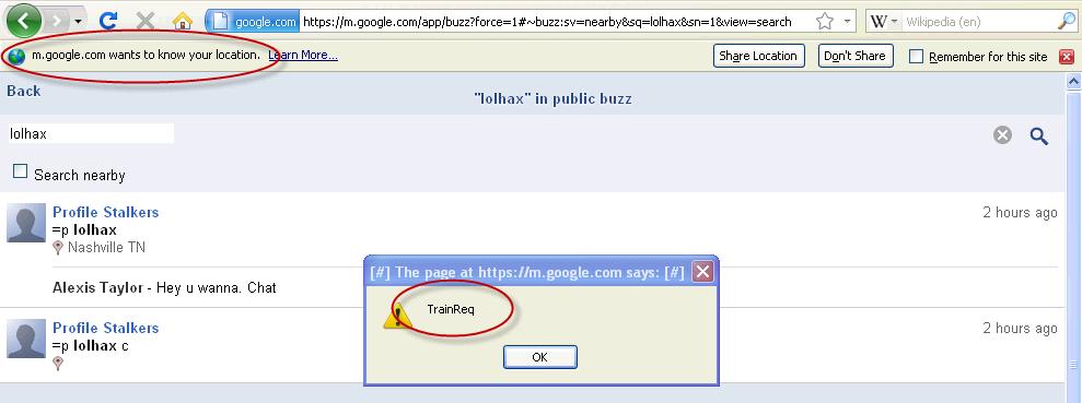 Her demonstrerer hackerne hacken som er gjort selv om sikkerhetsmekanismer som SSL/TLS er på.