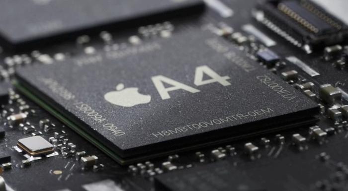 Nå lager ikke Apple bare design og programvare, men også maskinvaren. A4-chippen dukker først opp i selskapets tablet neste måned, men den blir trolig å finne i iPhone 4G som trolig lanseres juni i år.