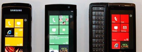 Samsung, HTC og mange andre har bebudet Windows Mobile 7-telefoner. Men om de kommer samtidig med lanseringen av OS-et, er usikkert.