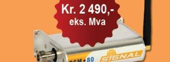 Denne GSM-repeateren selges helt lovlig i Norge. Men du får ikke lov å bruke den.