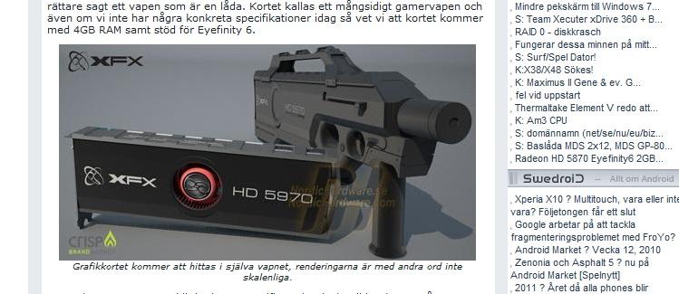 Svenske nordichardware avslører et helt utrolig skjermkort fra XFX som kan komme til å koste 1000 dollar.