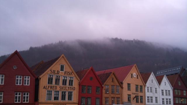 Vi tok med oss X10 til Bergen.
