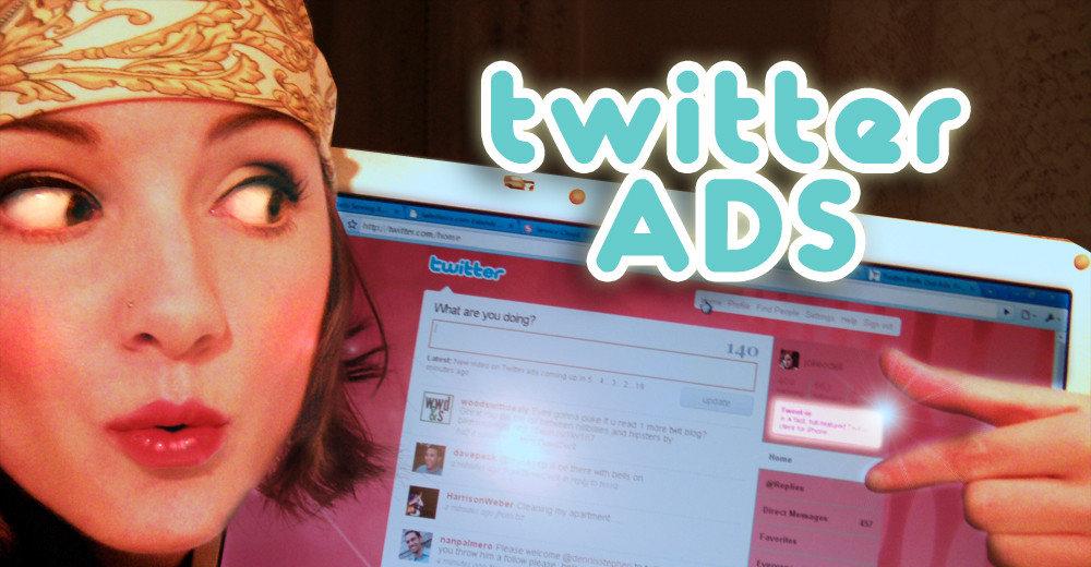 Twitter - nå også med reklame.