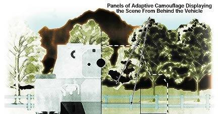 Såkalt Adaptive Camouflage skjuler ingenting, bare du ser godt nok...