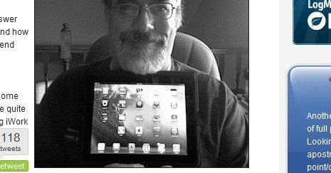 At TUAWs Steven Sande elsker sin iPad er det ingen tvil om.