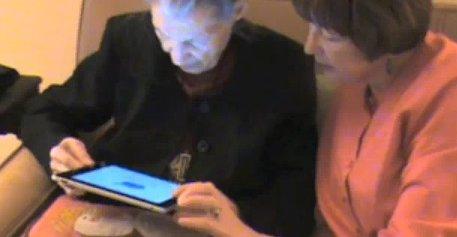 Virginia Campbell er 99 år. Hennes første møte med en datamaskin av noe slag ble en iPad.