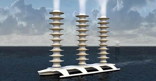 Gigantiske flåter som dette skal bøte på klima-effekten, mener Bill gates.