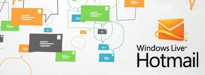 Hotmail gir deg nå mulighet til å flytte og lagre store mengder data. Du har også muligheten til å kjøre lysbilder på direkten