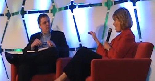 Arrington fikk så ørene flagret av Yahoo-sjef Carol Bartz.
