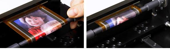 Sonys nye skjerm kan tvinnes rundt en blyant.